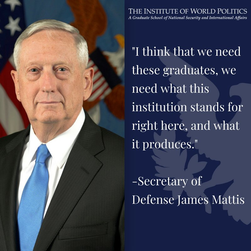 Quotation by U.S. Secretary of Defense James N. Mattis