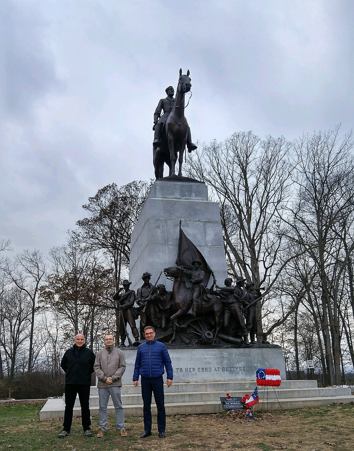 Polish Fellows at Gettysburg, November 2018