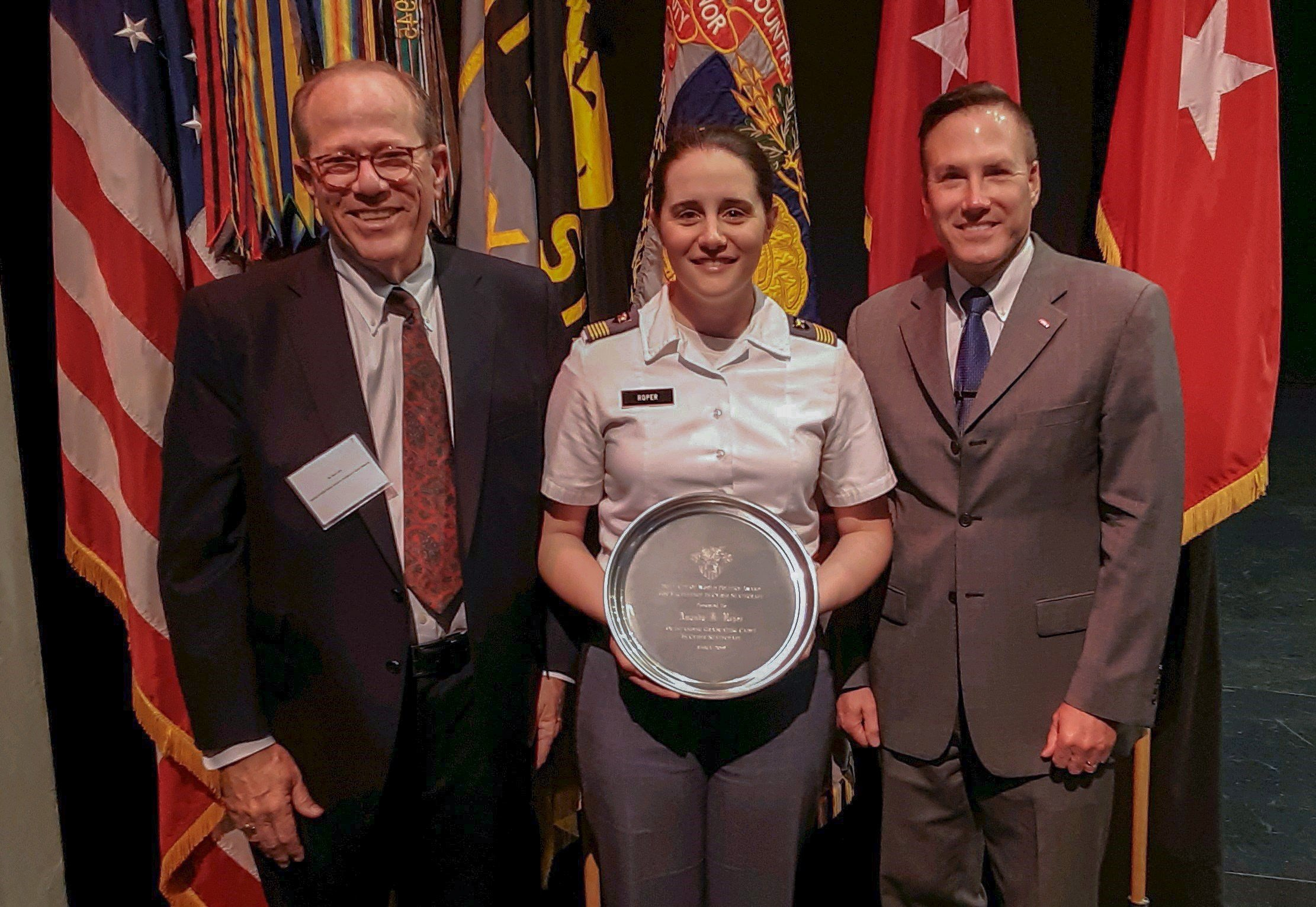 Cyber Intelligence Award given at West Point May 23 2019