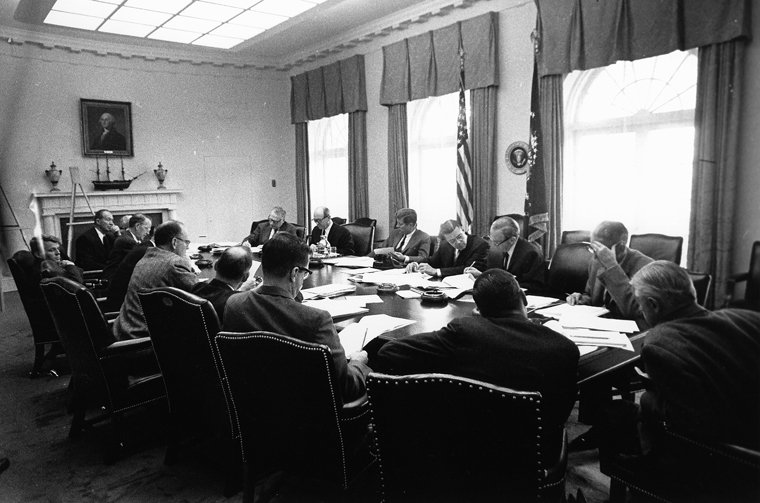 EXCOMM meeting, Cuban Missile Crisis, 29 October 1962