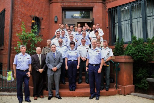 Belgian Defense College Visit