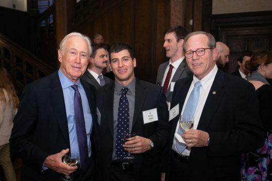 Donald Smith at IWP Chancellor's Council reception