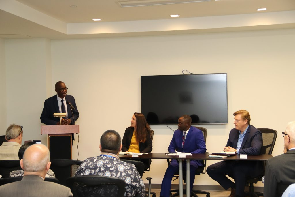 Panel at the Permanent Mission of the Republic of Senegal to the United Nations