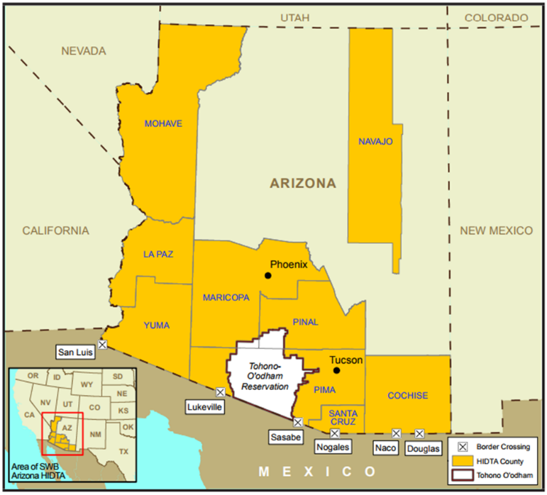 Arizona High Intensity Drug Trafficking Area