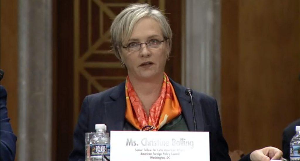 Christine Balling - Hill Testimony September 2019
