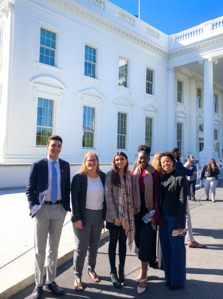 Interns at White House, Fall 2019