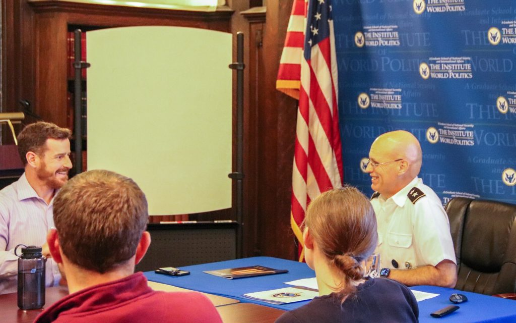 MG James Taylor speaks at SVA Roundtable