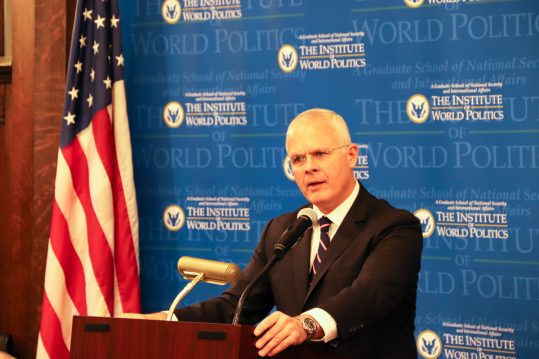 Chris Costa speaking at IWP