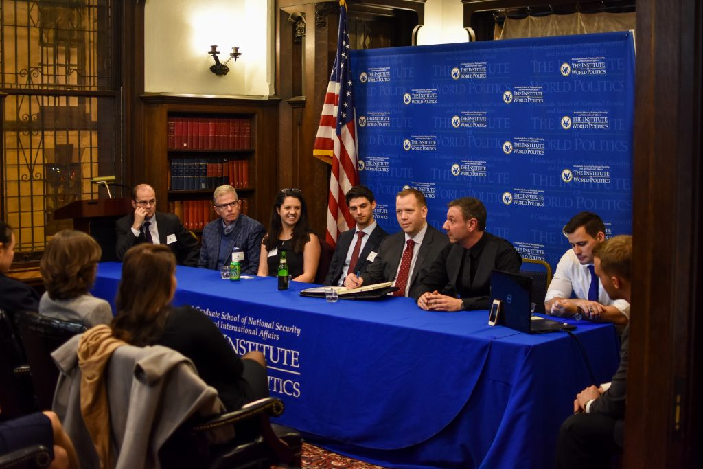Pentagon panel at IWP