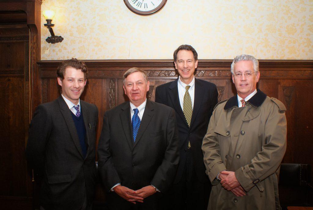 Peter Sulick, Michael Sulick, John Lenczowski, John Quattrocki