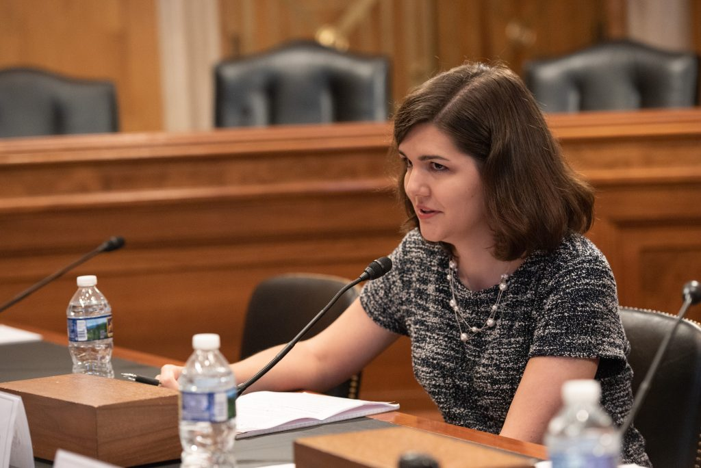 Rachel Bauman, Photo courtesy of the US Helsinki Commission (2)