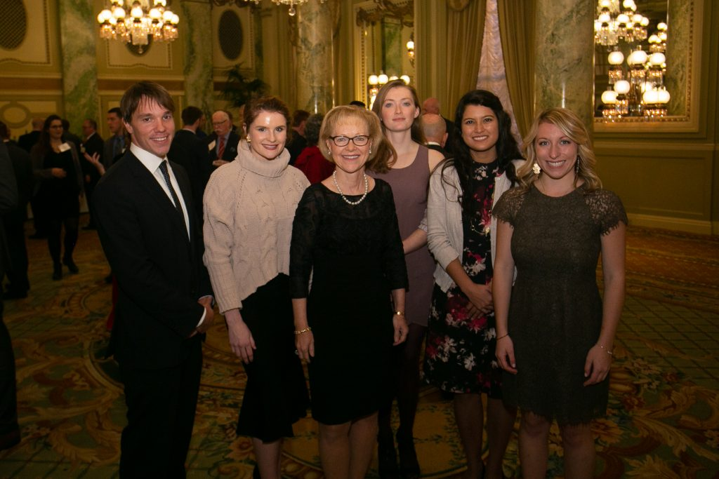 Amb. Aldona Wos and Wos-DeJoy Scholarship Recipients