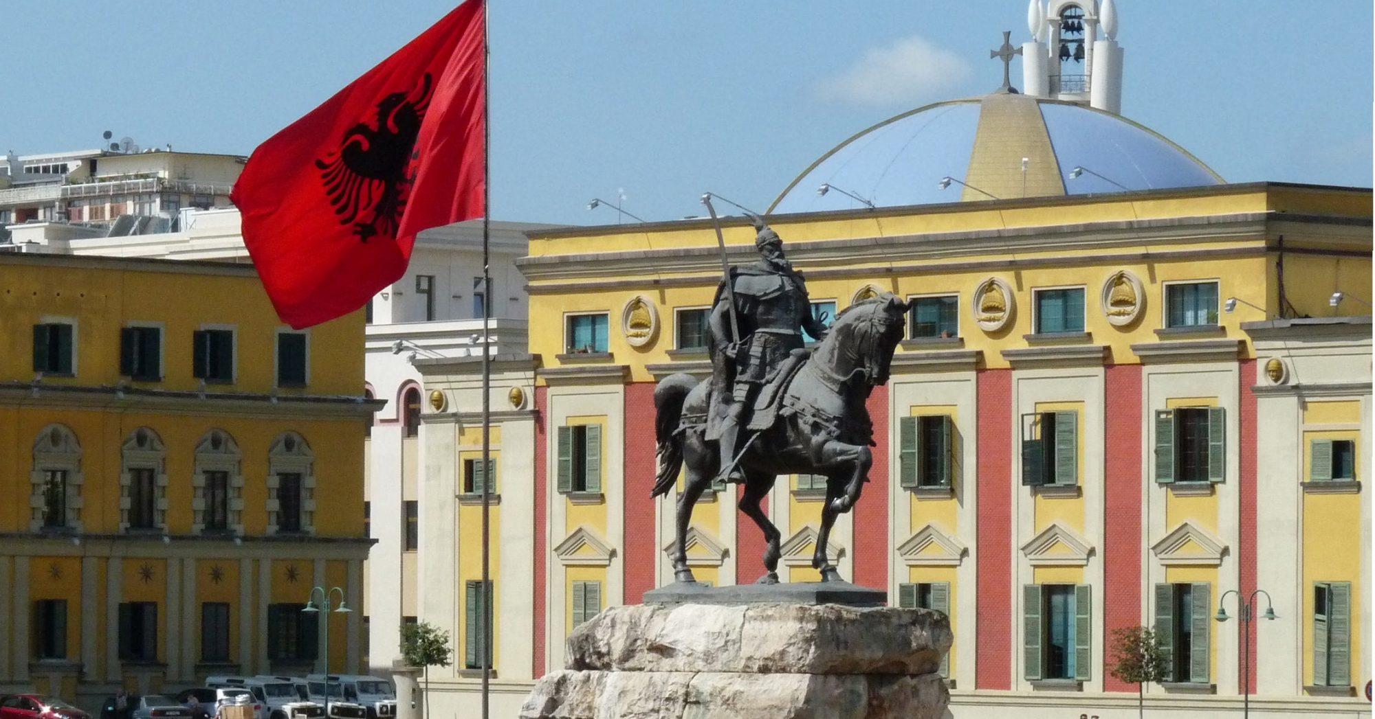 Skanderbeg Monument