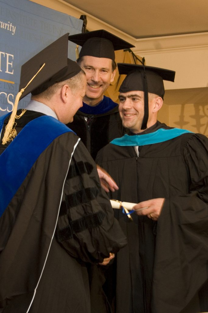 John Rose at IWP Commencement 2009