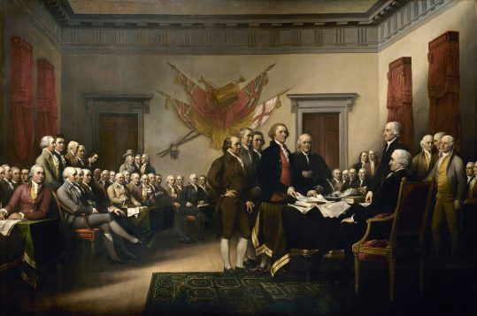 Declaration of Independence 1819, by John Trumbull