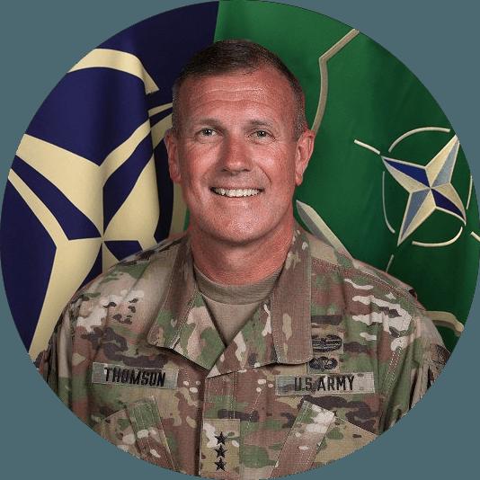 Lieutenant General J.T. Thomson, U.S. Army