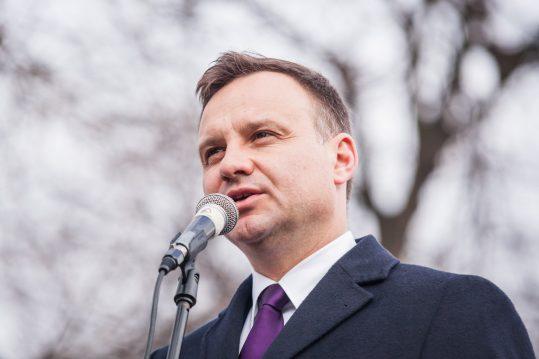 Andrzej Duda, photo by Radosław Czarnecki