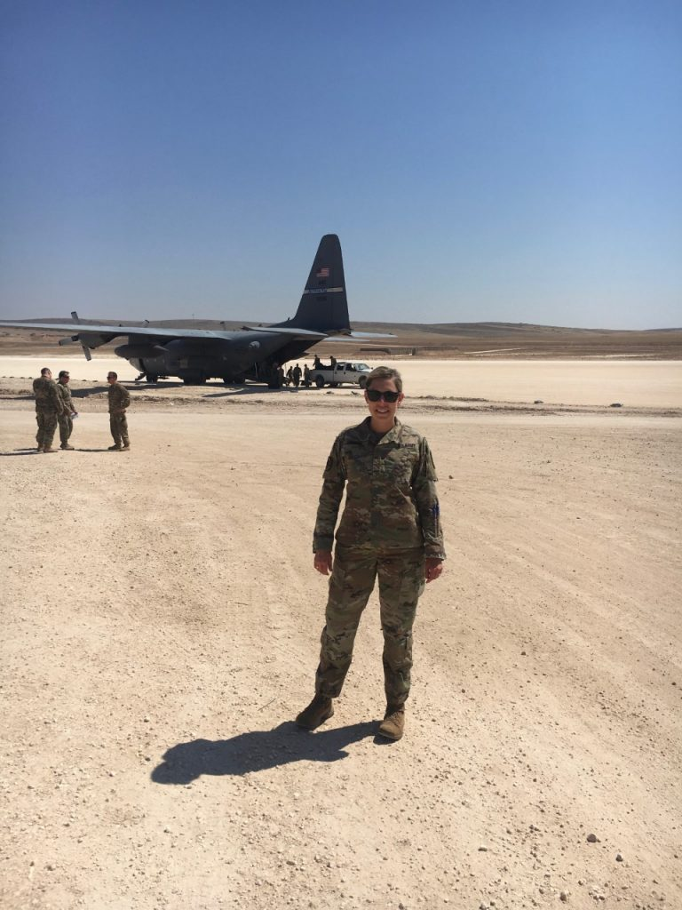 Katie Crombe in Syria