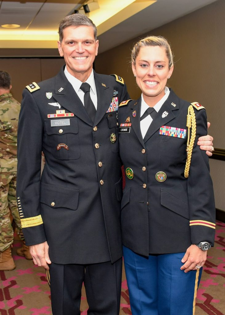 GEN Joseph Votel and Katie Crombe