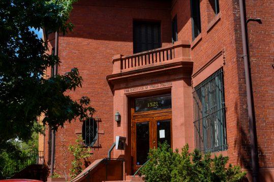 Marlatt Mansion Entrance
