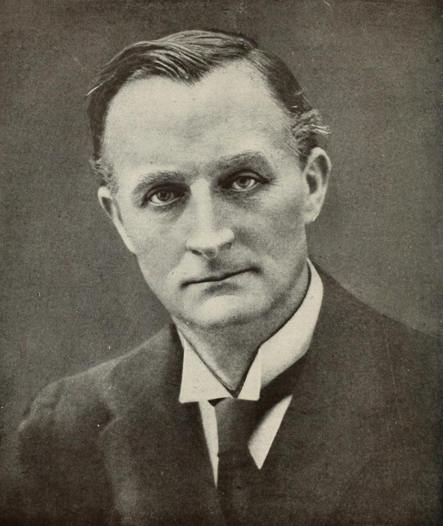 Portrait of Edward Grey, 1st Viscount Grey of Fallodon