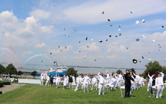 U.S. Merchant Marine Academy Graduation