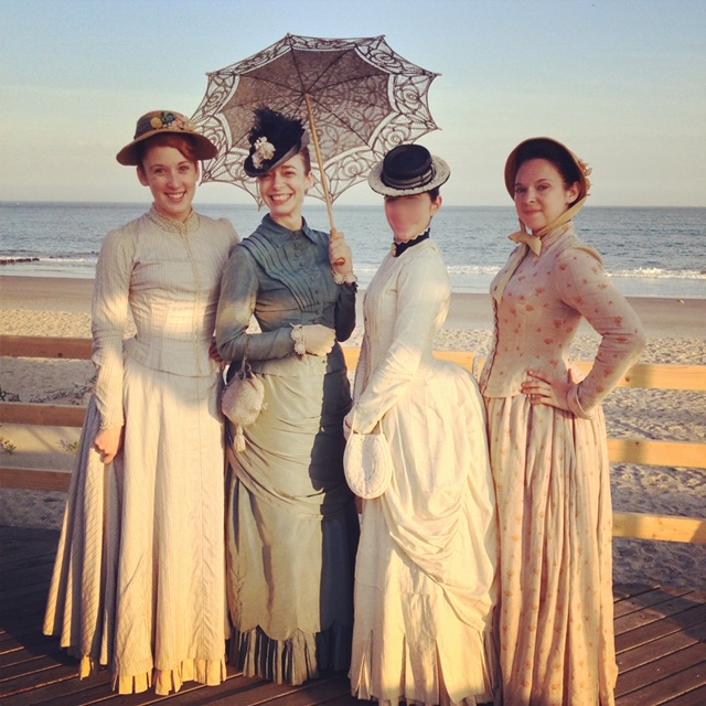 "IWP student ""Diane"" on the set of Boardwalk Empire"