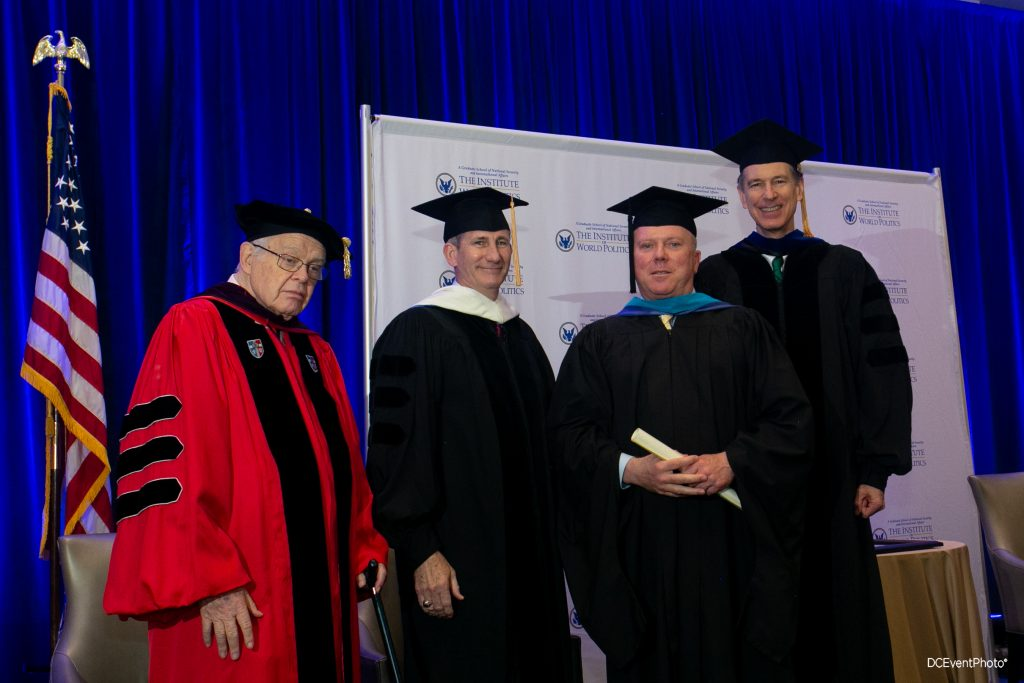 John Walsh at Commencement in 2019