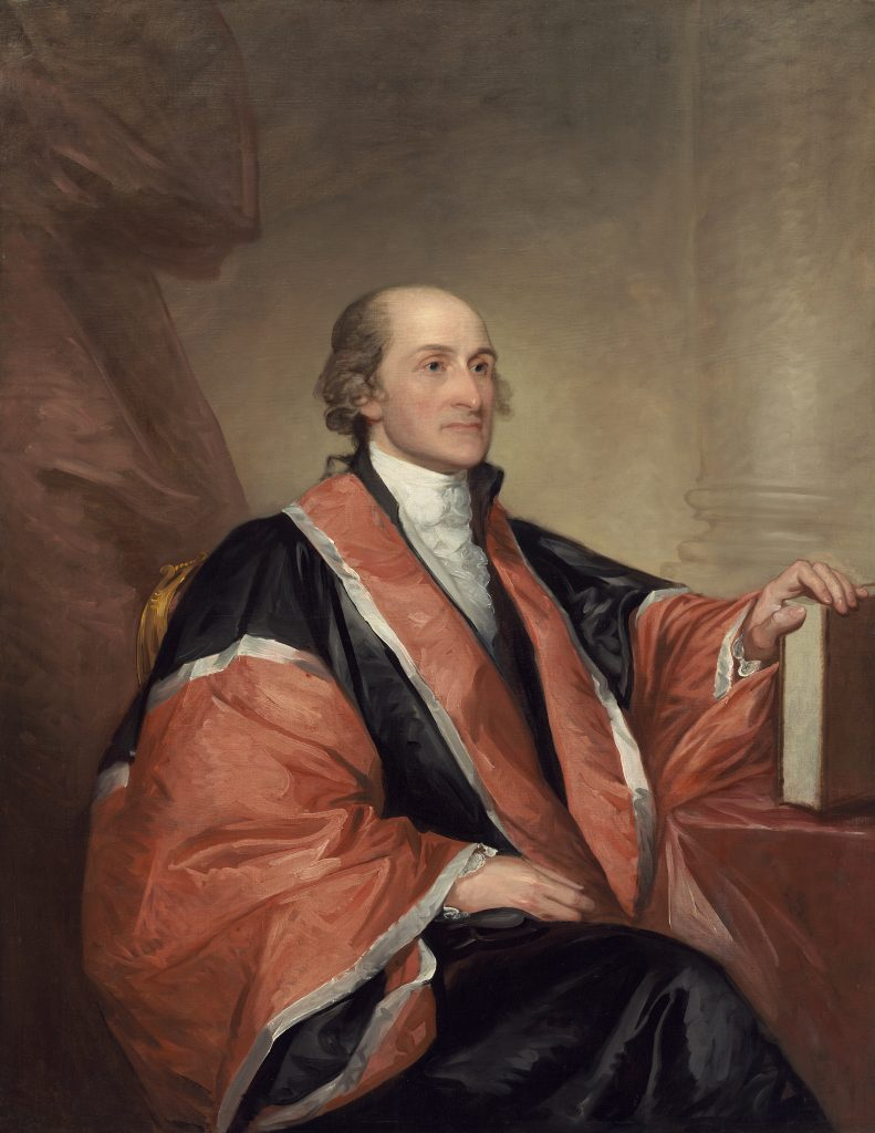 John Jay portrait by Gilbert Stuart, 1794