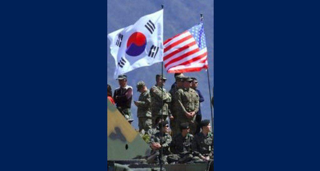 rok/us flags