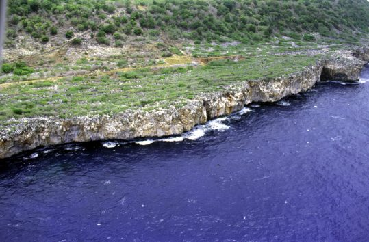 Coast of Navassa Island, photo by U.S. Geological Survey