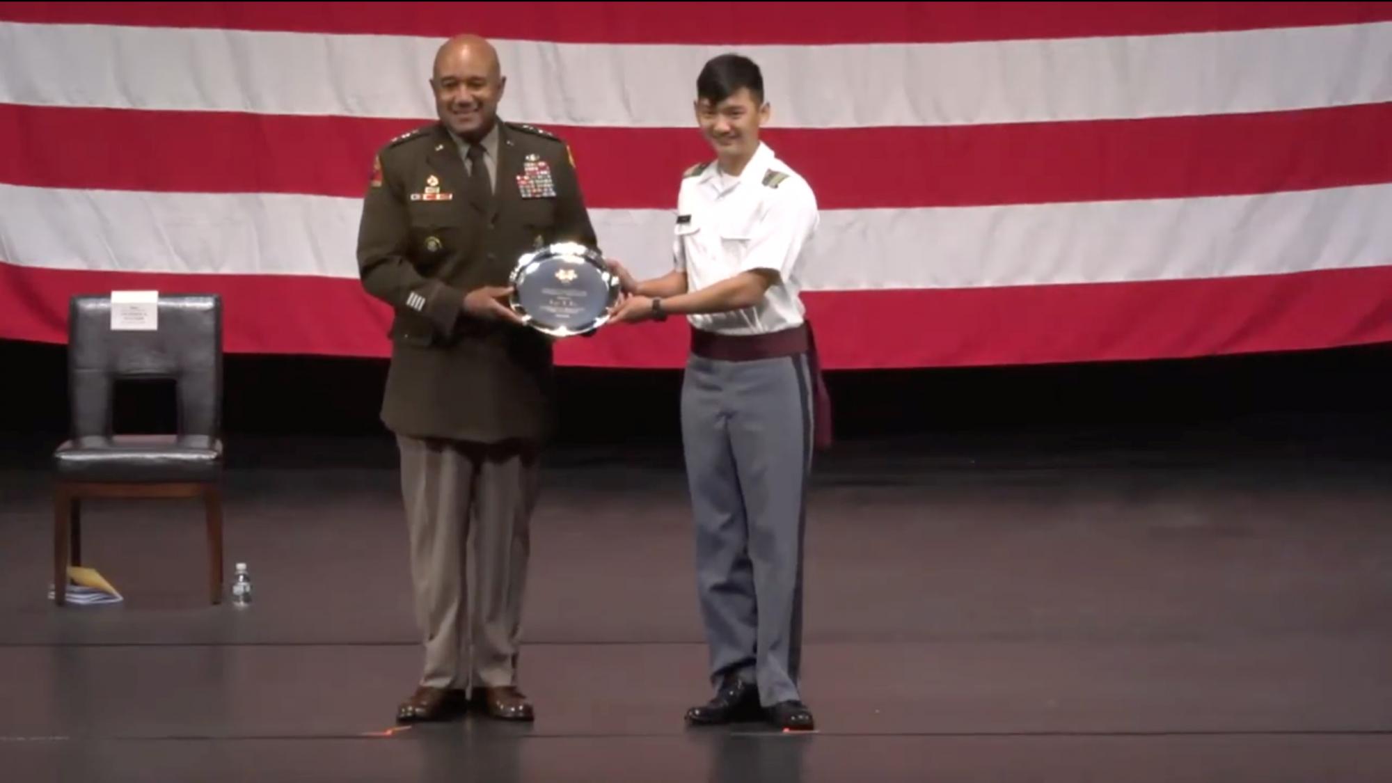 Cadet Brian B. Kim