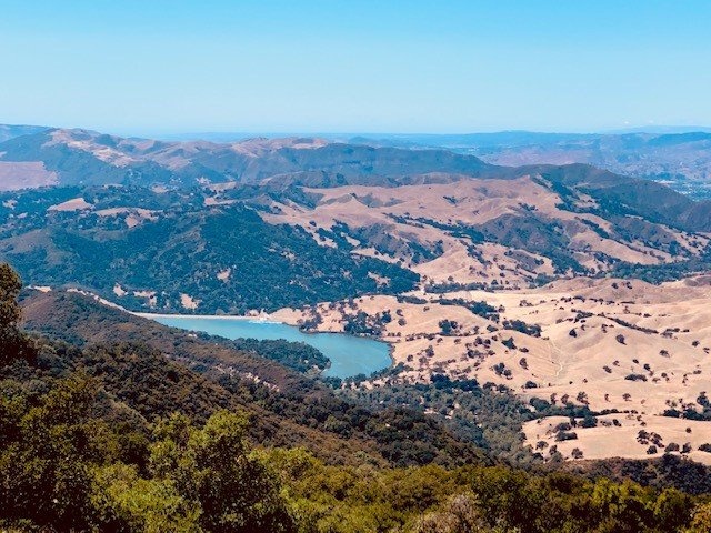 A view from the Reagan Ranch