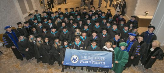 Classes of 2020 and 2021 at Commencement